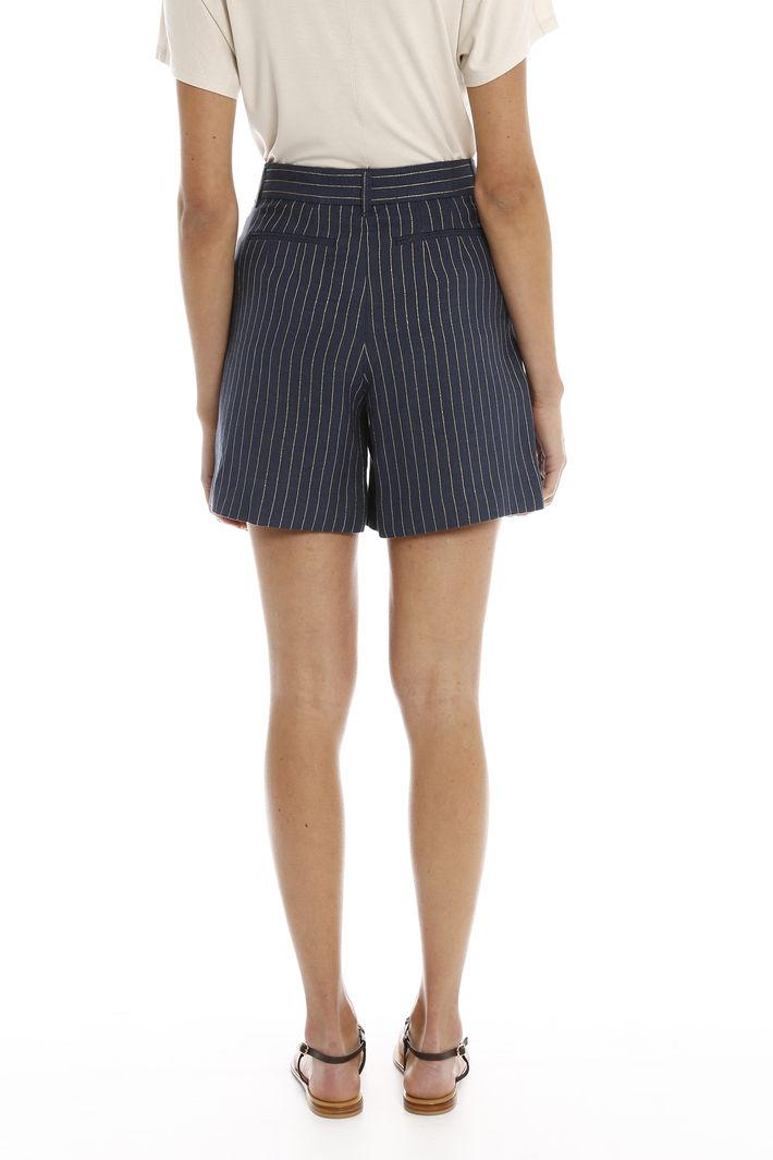 Shorts con motivo lurex Intrend