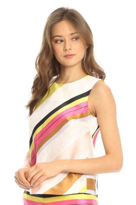 Top a righe multicolor Diffusione Tessile