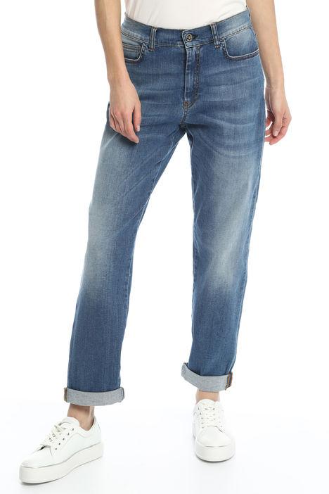 Jeans boyfriend cinque tasche Intrend