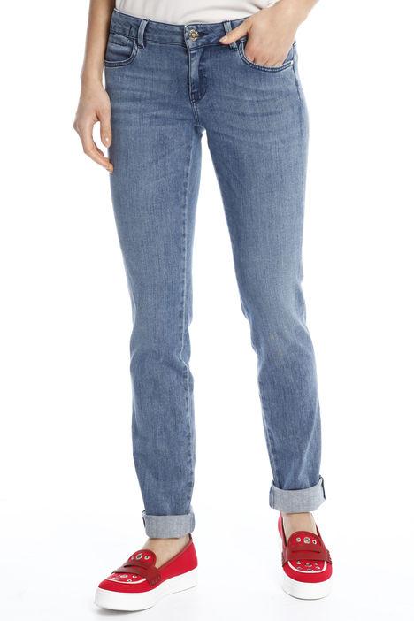 Jeans a sigaretta in denim Diffusione Tessile