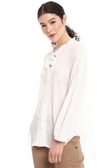 Blusa in crepe lurex Diffusione Tessile