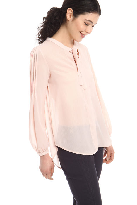 Blusa in crepe lurex Intrend