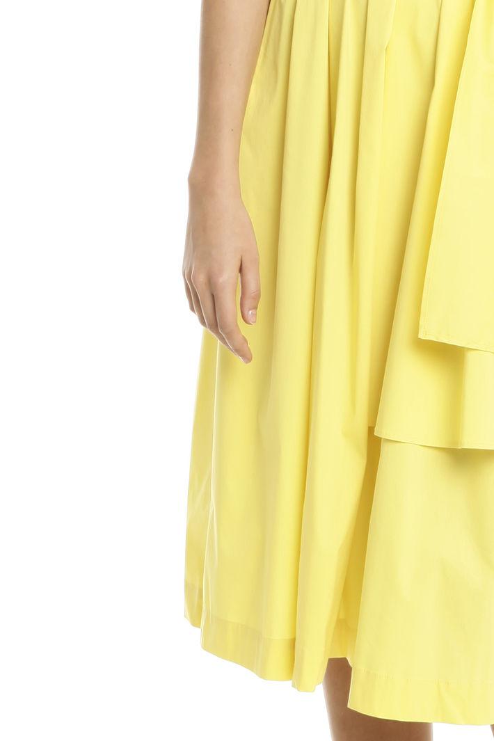 Abito in popeline di cotone, giallo