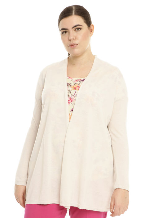 Cardigan in lana e cashmere Intrend