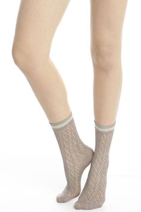 Calzini con bordatura lurex Diffusione Tessile