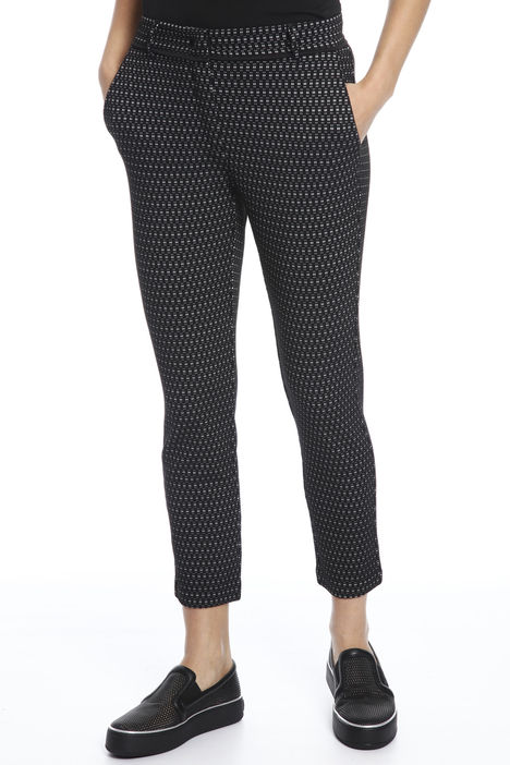 Pantaloni in faille jacquard Intrend