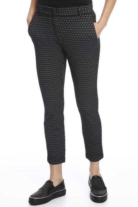 Pantaloni in faille jacquard Diffusione Tessile