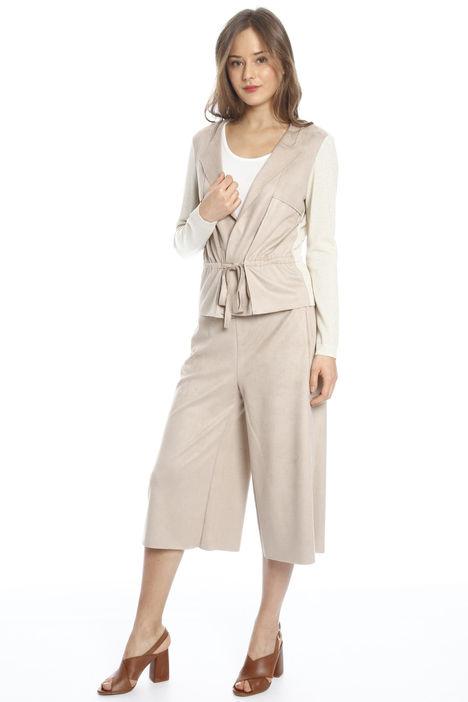 Giacca in maglia con cintura Intrend