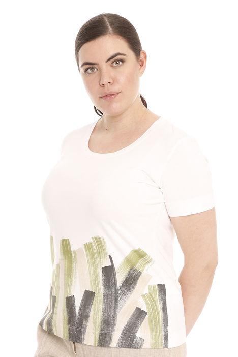 T-shirt dipinta a mano Diffusione Tessile