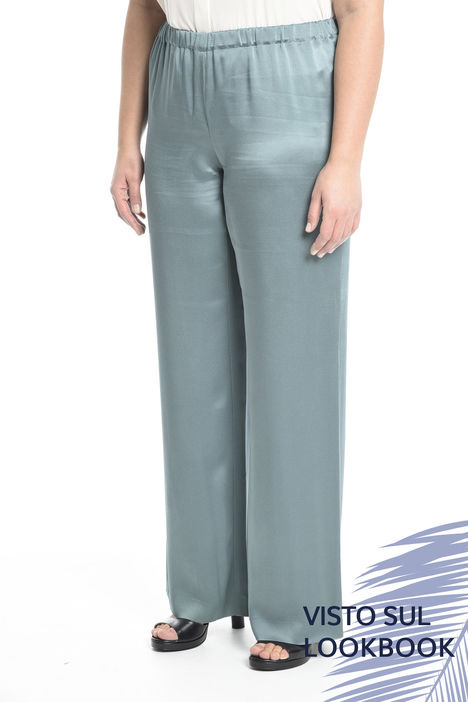 Pantalone palazzo fluido Diffusione Tessile