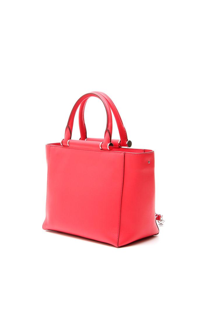 Shopper piccola a due manici, rosso