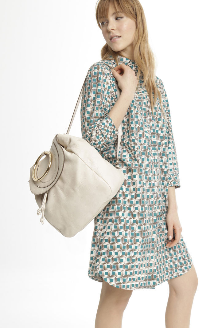 Zaino in pelle bottolata Fashion Market
