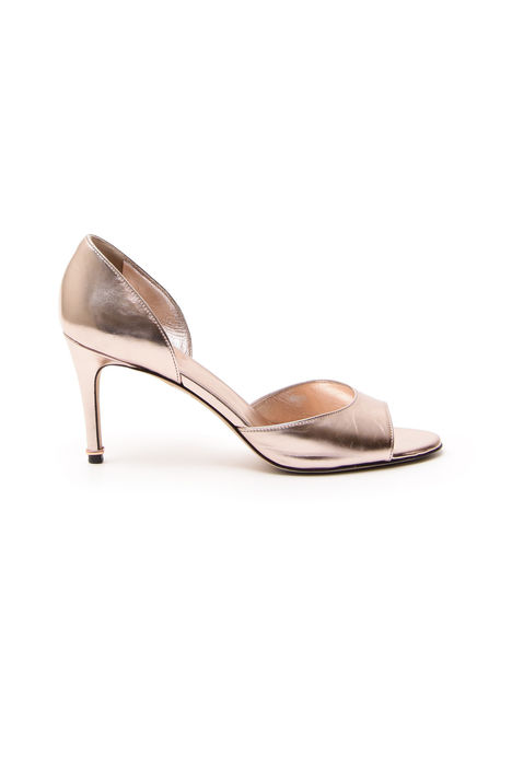 Sandali open-toe laminati Diffusione Tessile