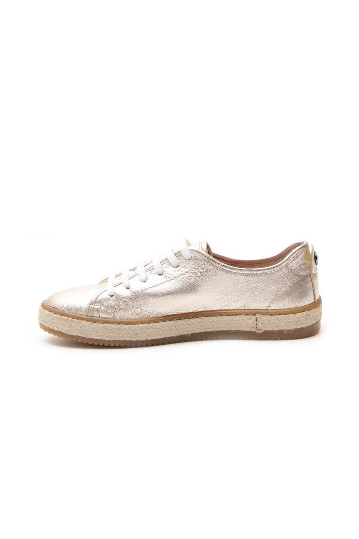 Sneakers laminate, oro