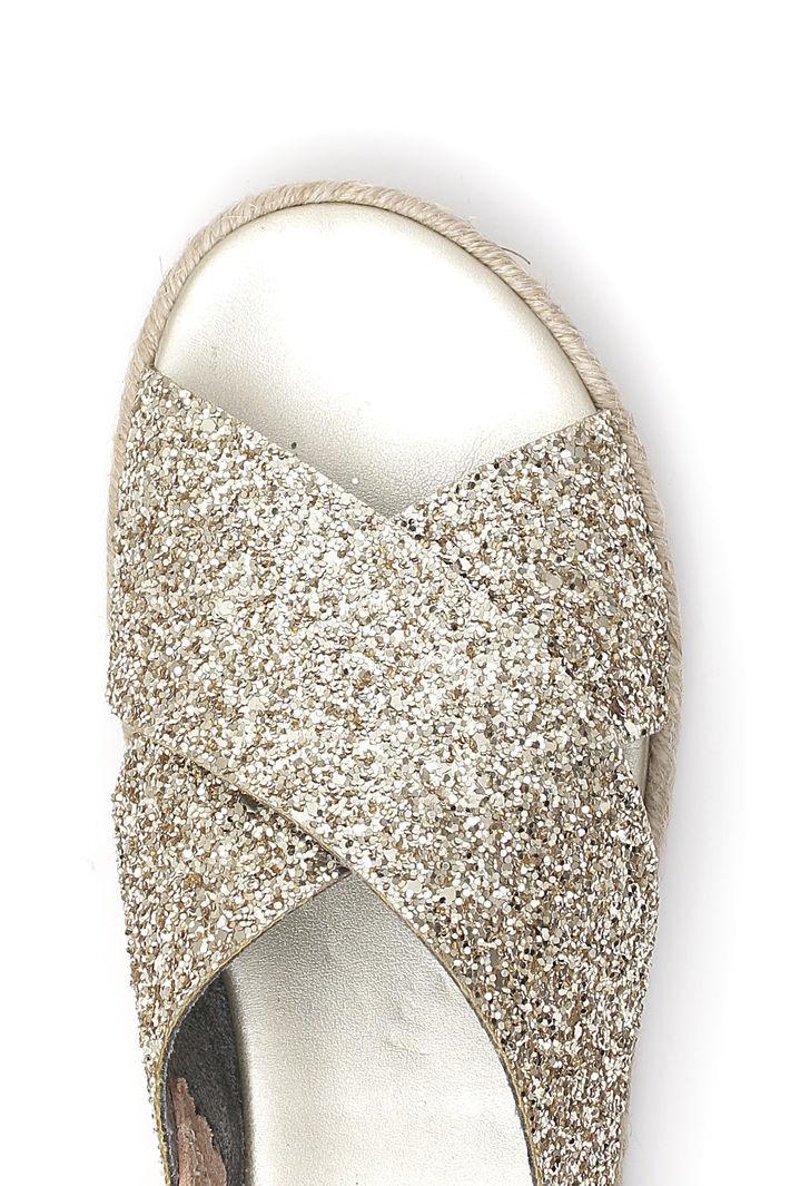 Sandalo basso glitterato Intrend