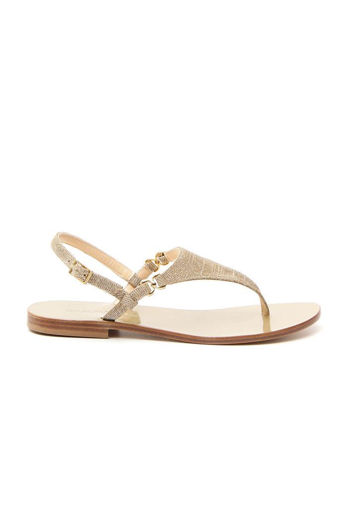Sandali glitter, oro