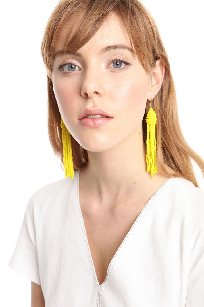 Orecchini pendenti con nappe Fashion Market