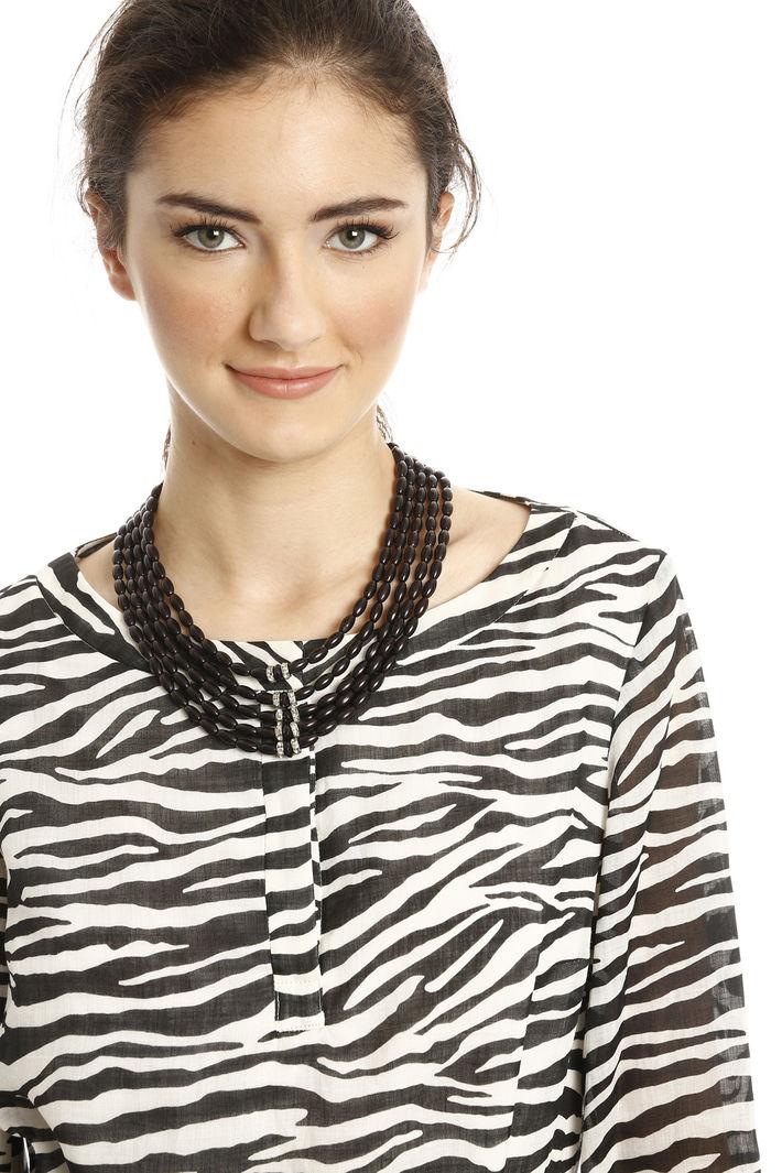 Collana multifilo con strass Fashion Market