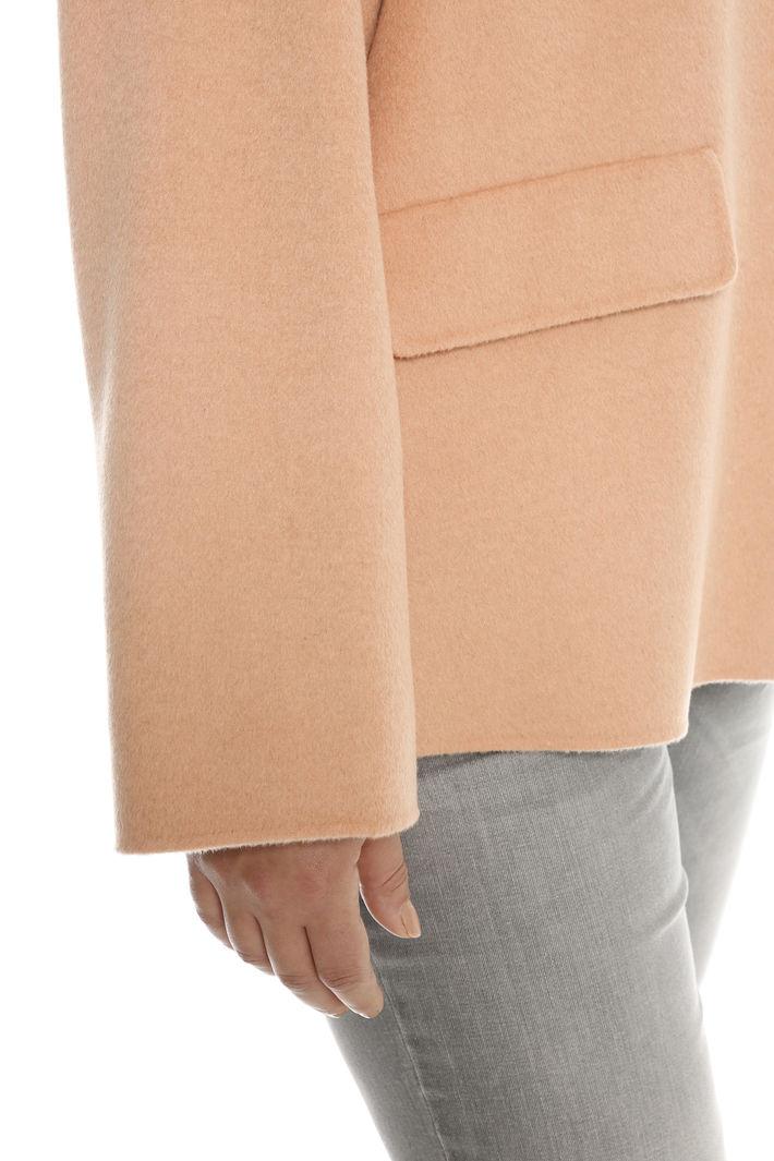 Capospalla in double di lana Intrend