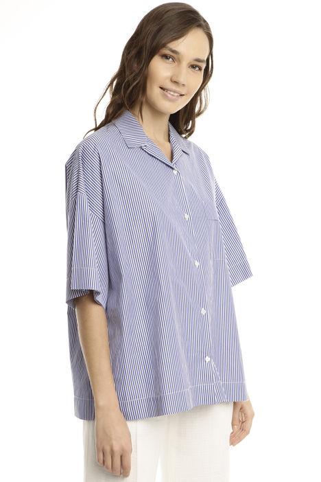 Camicia over in popeline Diffusione Tessile