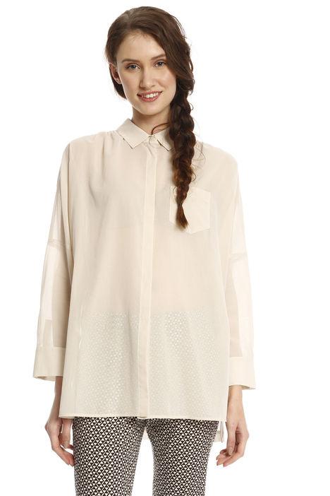 Camicia ampia in voilé Intrend