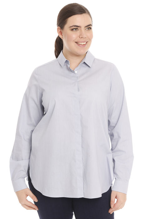 Camicia lunga in puro cotone Diffusione Tessile