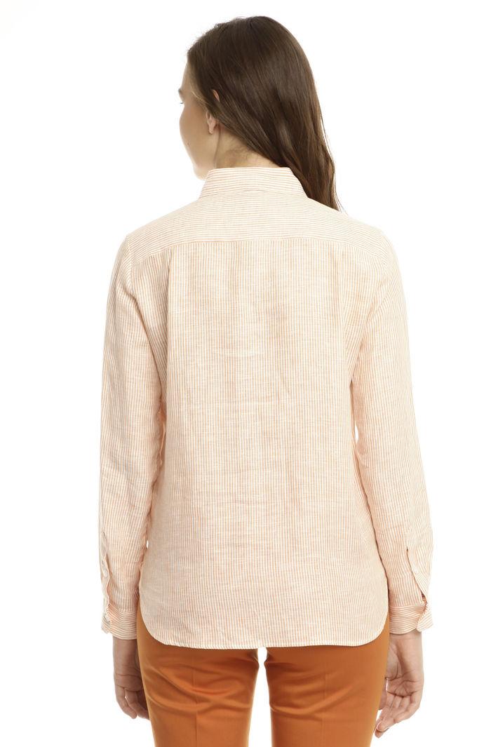 Camicia classica in lino Intrend
