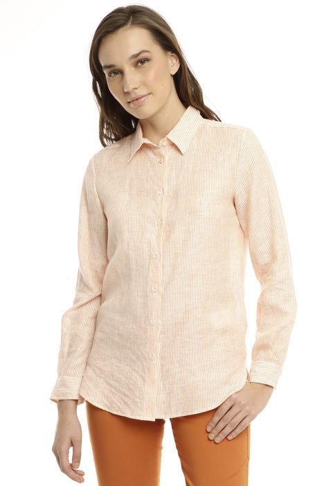 Camicia classica in lino Diffusione Tessile