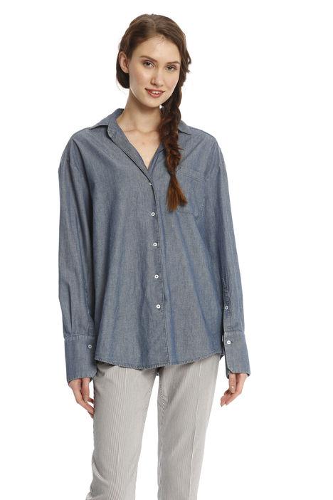 Camicia oversize effetto denim Intrend