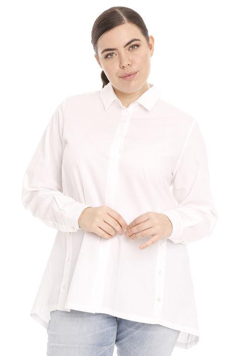 Camicia lunga in popeline di cotone Intrend