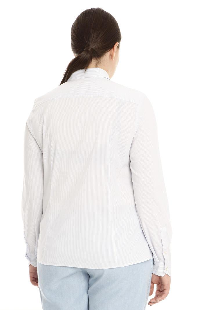 Camicia semiaderente in cotone Intrend