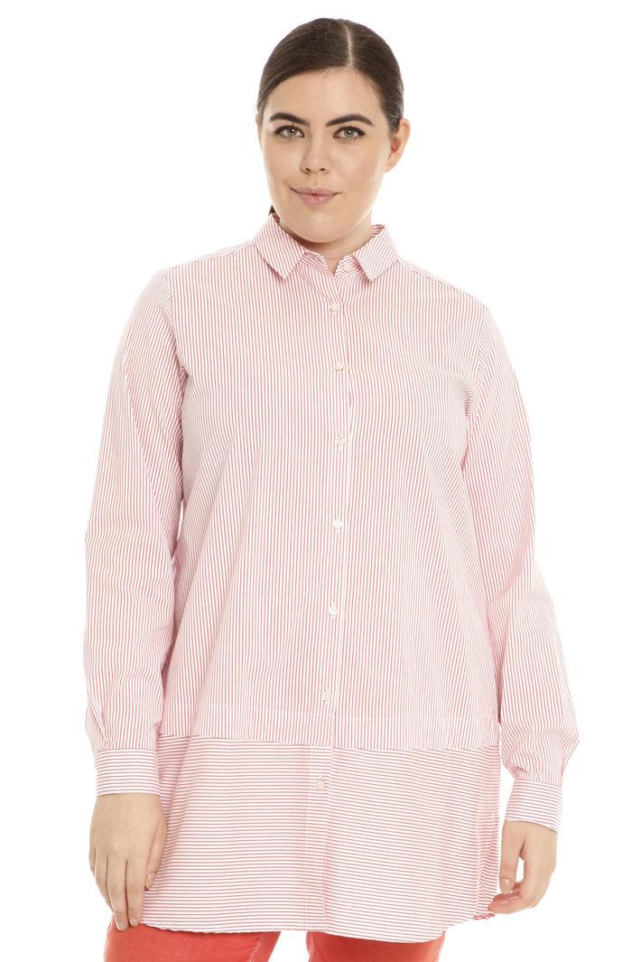 Camicia ampia in popeline Intrend
