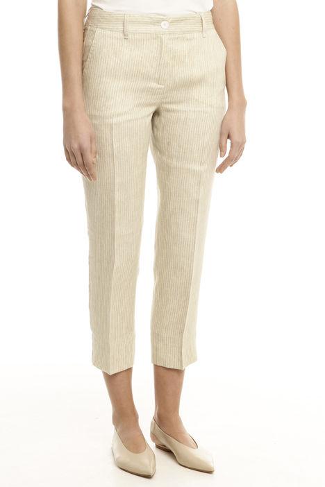 Pantalone in puro lino Diffusione Tessile