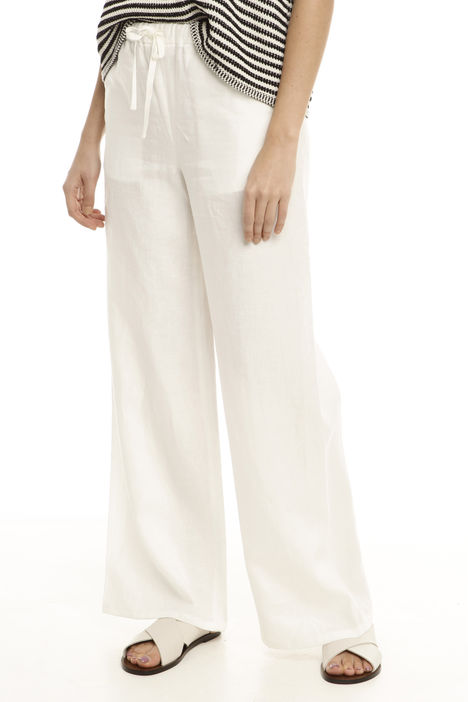 Pantalone ampio con coulisse Diffusione Tessile