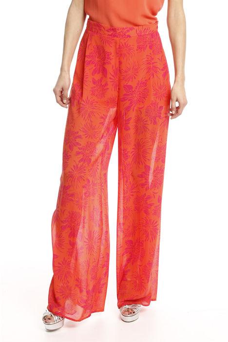 Pantalone palazzo stampato Diffusione Tessile