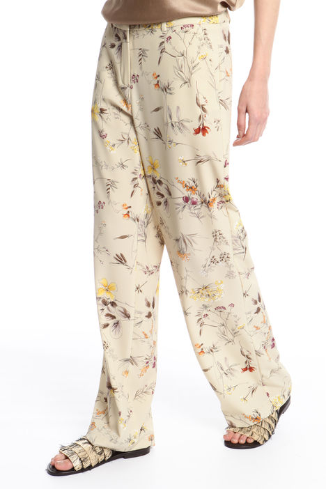 Pantalone in cady stampato Intrend