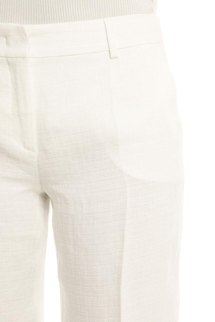 Pantalone dritto in puro lino Intrend