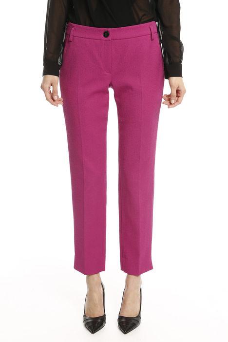 Pantalone stretch jacquard Diffusione Tessile
