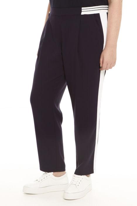 Pantaloni con cintone elastico Diffusione Tessile