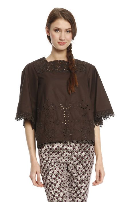 Blusa in sangallo Intrend