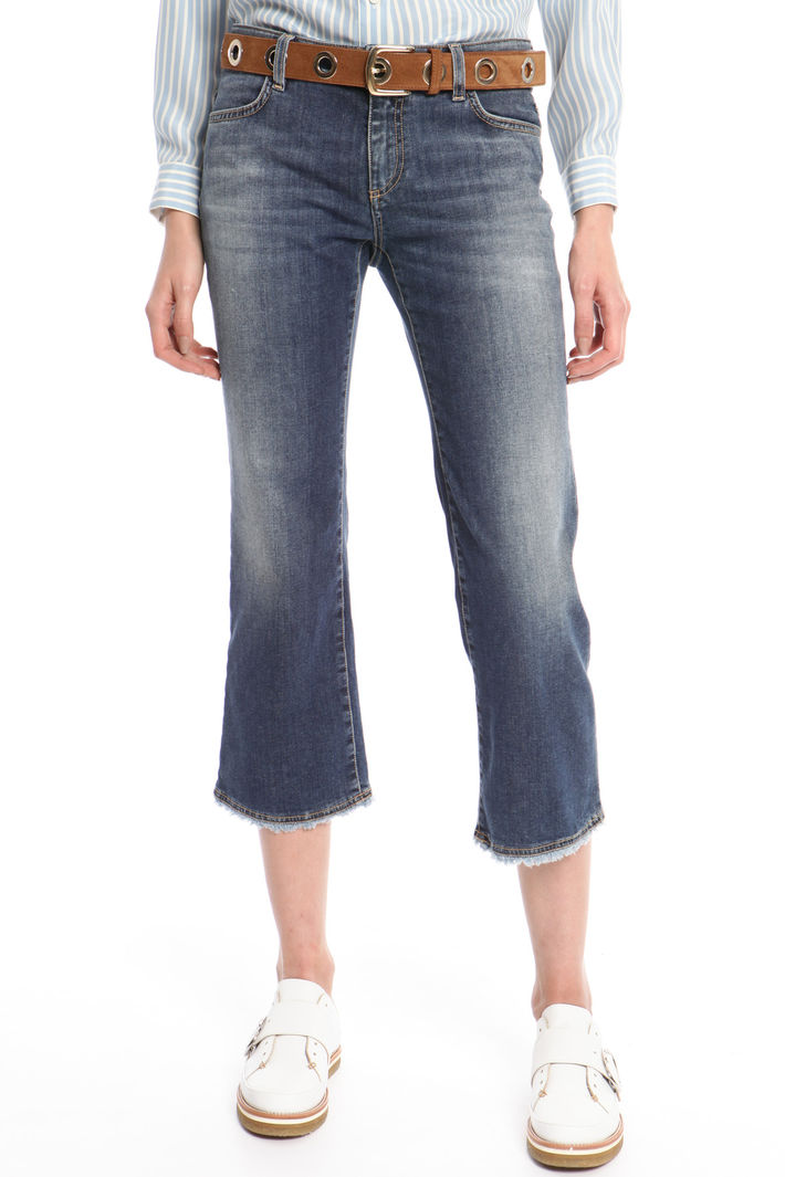 Jeans cropped aderenti Intrend