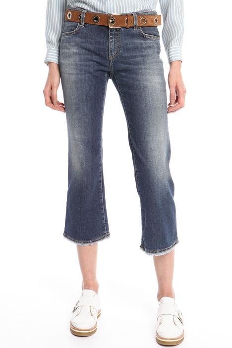 Jeans cropped aderenti Diffusione Tessile