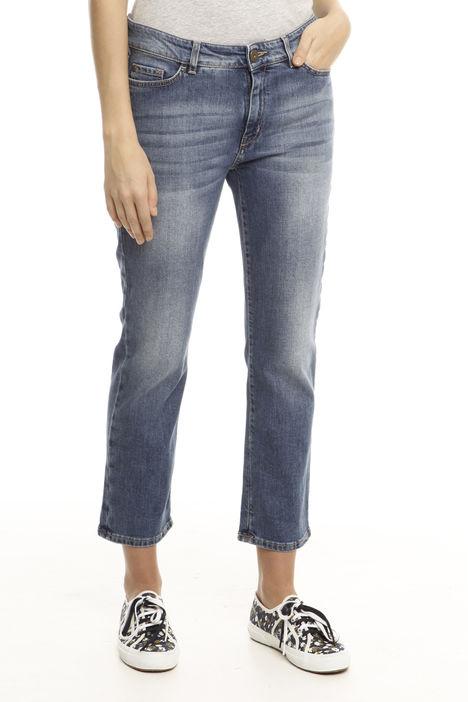 Jeans dritto cinque tasche Intrend