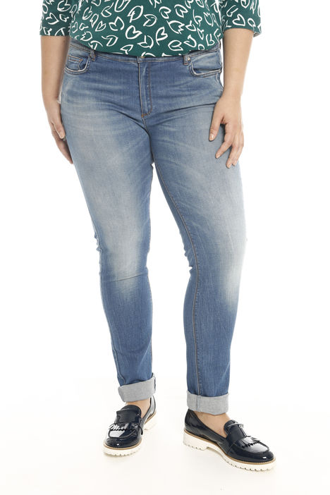 Jeans in denim super stretch Intrend