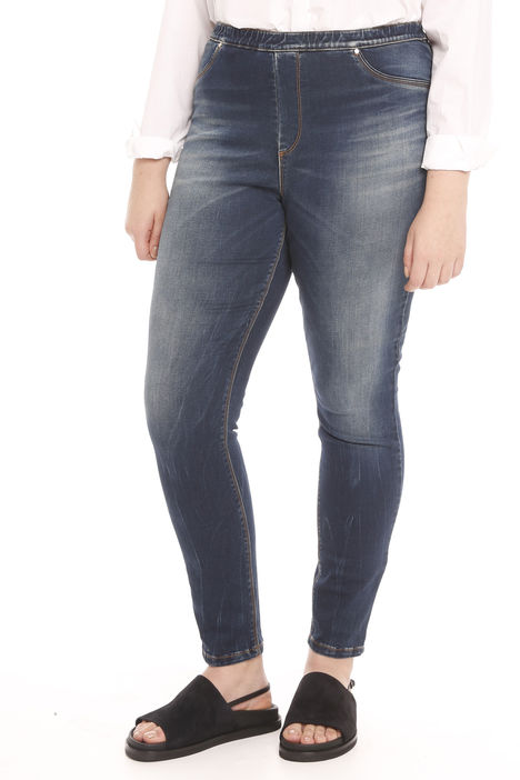 Jeans leggings in raso denim Diffusione Tessile