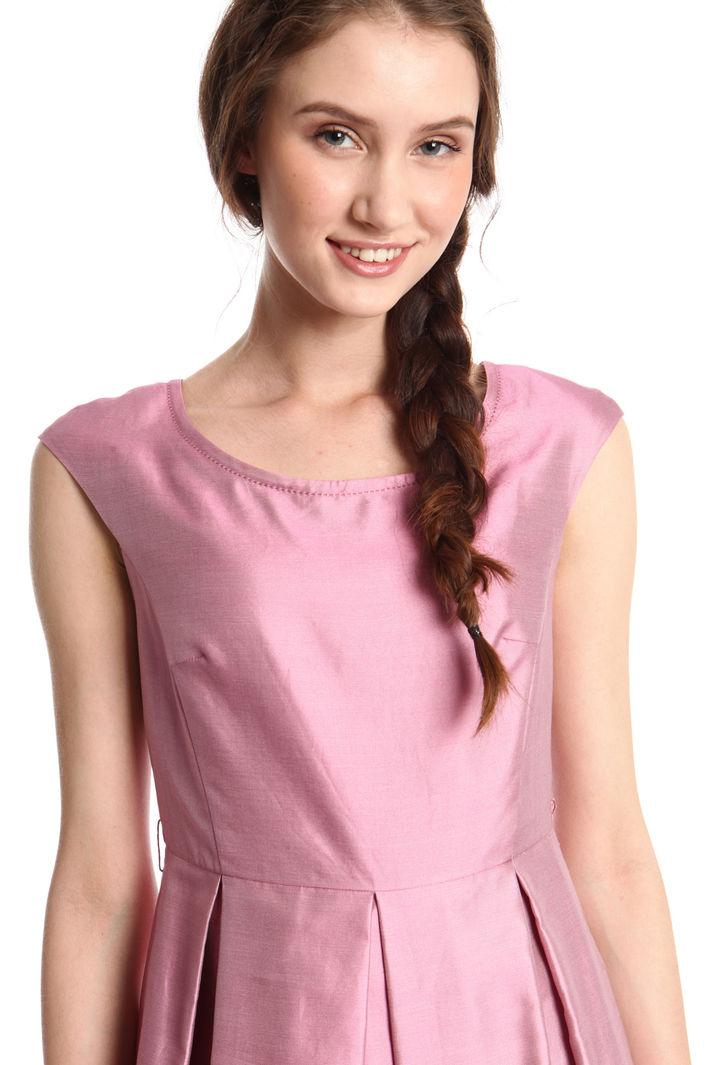 Abito princesse in shantung, rosa scuro