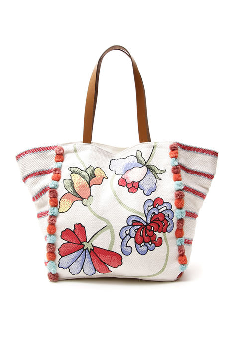 Maxi shopper in canvas Intrend