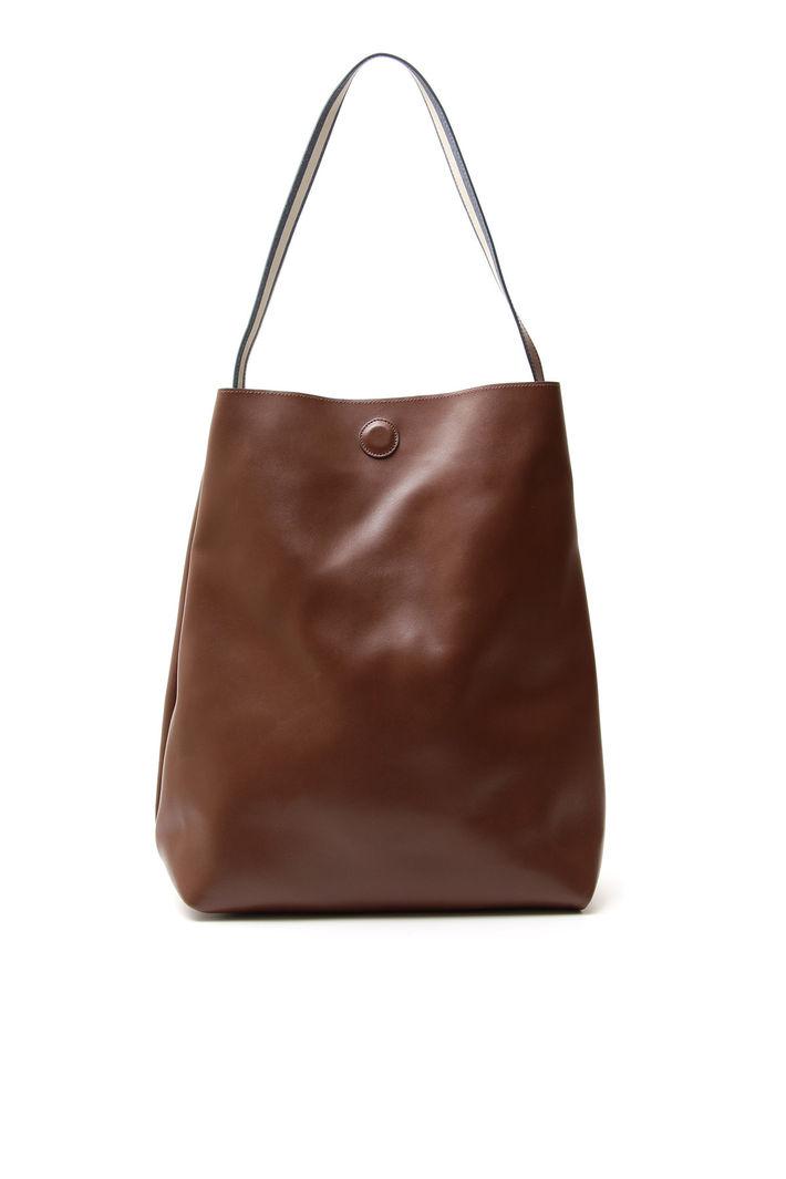 Maxi tote bag, marrone