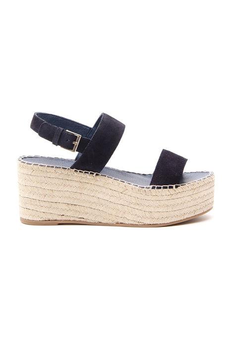 Sandalo platform suede Intrend