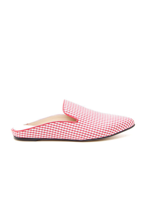 Mocassino slipper vichy Intrend